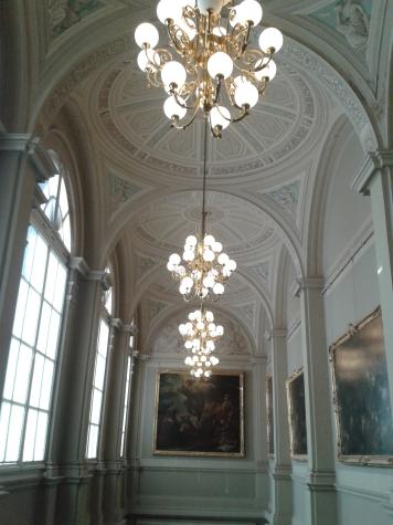 Die Gemäldegalerie...