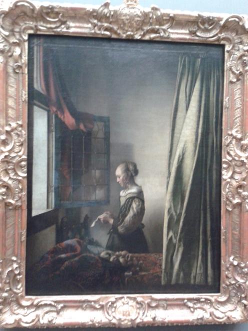 Vermeer: Briefleserin am offenen Fenster