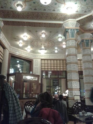 ...im Café Imperial