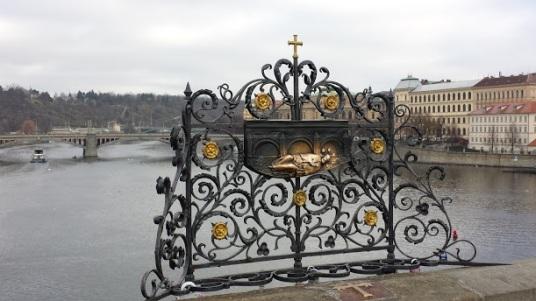 ...auf der Karsbrücke