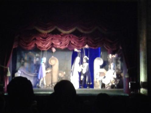 Aufführung von Don Giovanni. Im Jahr 1787 fand hier damals die Uraufführung statt